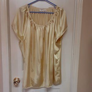 Cato Gold Shimmery Blouse